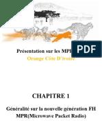 Formation MPR