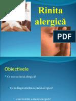 12. Rinita alergică. Alergia alimentară.