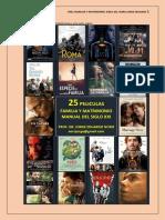 388. 25 Peliculas + Matrimonio y Familia Manual Siglo Xxi