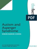 Autism and asperger syndrome by Simon Baron-Cohen