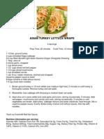 01 UNI 12144 SlimFast Recipes