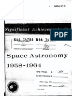 Significant Achievements in Space Astronomy 1958-1964