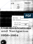 Significant Achievements in Space Communications and Navigation Satellites 1958-1964