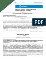 El Decreto 22/2021 del Boletín Oficial