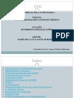 Los problemas de la educación en México (Humberto Gonzalez Lopez)