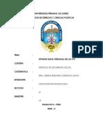 RAMOS SOSA ANGIE STEFANIE - OPINION LEGAL PERSONAL DE LAS STC
