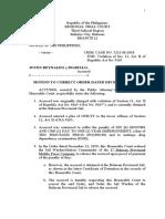 2020-12-11 - Joven Reynaldo - Motion for Correction