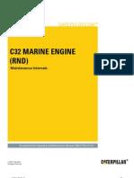 C32 Marine Engines (RND) - Maintenance Intervals
