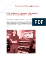 Amyr Cantusio Jr Foge Do Brasil