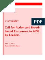 AIDS SUMMIT