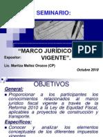 Presentación marco jurídico fiscal-UNI-RUPAP