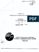 Skylab 1/2 Technical Air-To-Ground Voice Transcription Vol I of 2