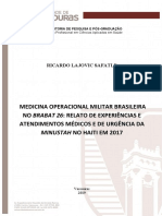 Dissertação em mestrado de saúde