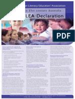 ALEA Declaration A3 version