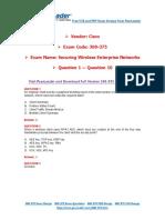 PassLeader 300-375 Exam Dumps (1-10)