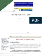 Control Numérico - CNC - Apuntes de Ingeniería Mecánica