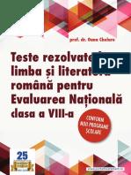 Sample_Teste Limba Romana Clasa AVIIIa