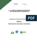 PROGRAMA DEL SUBMODULO OPERACIÓN DE EQUIPO DE COMPUTO
