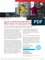 Upgrade to Dell EMC PowerEdge R940 servers with VMware vSphere 7.0 and gain greater OLTP performance - summary