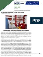 Normatividad Colombiana en Sistemas Contra Incendio _ Prevencionar Colombia _ Prevencionar Colombia