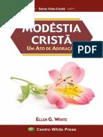 Modestia Crista -  Ellen White