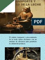 CONFERENCIA 1 - Transporte y calidad de la leche