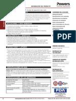 Ficha Tecnica POWER STUD SD1