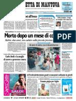 Gazzetta Mantova 30 Luglio 2010