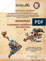 4.Memorias CONGRESO INTERNACIONAL DE HISTORIA