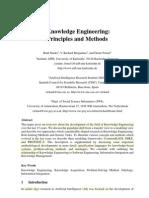 knowledge Engineering principles and methods