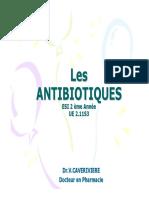 AntibiotiquesCours2Annee