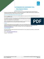 P517 - BRC Packaging 5 Self Assessment Tool - Basic Hygiene (Spanish)