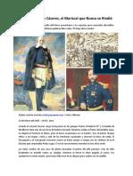 Andrés Avelino Cáceres, el Mariscal que Nunca se Rindió