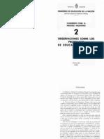 Cuadernos Para El Maestro Argentino 2 Observaciones Alta