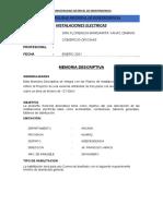 MEMORIA INSTALACIONES ELECTRICAS.docx