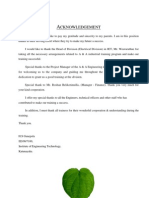Industrial training report of A & A telecom Engineering pvt Ltd