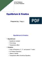Equilibrium & Kinetics