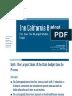 The California Budget