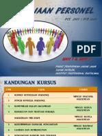 DCE2401 Penyeliaan Personel Bab 1-2 - PJJ UPM