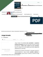 Jorge Amado – biografia, estilo, obras, frases - Português