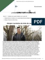 Alergia à Proteína do Leite de Vaca _ APLV _ Nestlé Health Science