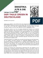 Francis King - Das Okkulte Und Der Thule Orden
