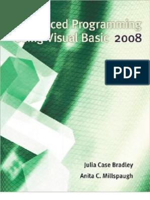 Advanced Programming using Visual Basic 2008   Language
