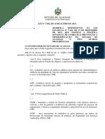 Lei_Política de Combate a Desertificação Alagoas