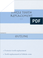 Implant Single Tooth 1/2