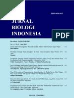 jurnal biologi indonesia nhaaa