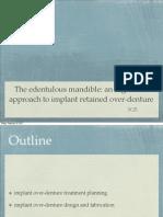 The Edentulous Mandible