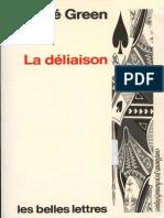 1992 André Green La Déliaison