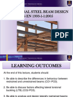 Design of Structural Steel Beams