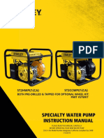 Stanley 7hp Water pump ST2HWPLT